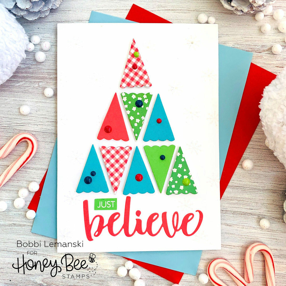 Load image into Gallery viewer, Believe | 3x4 Stamp Set