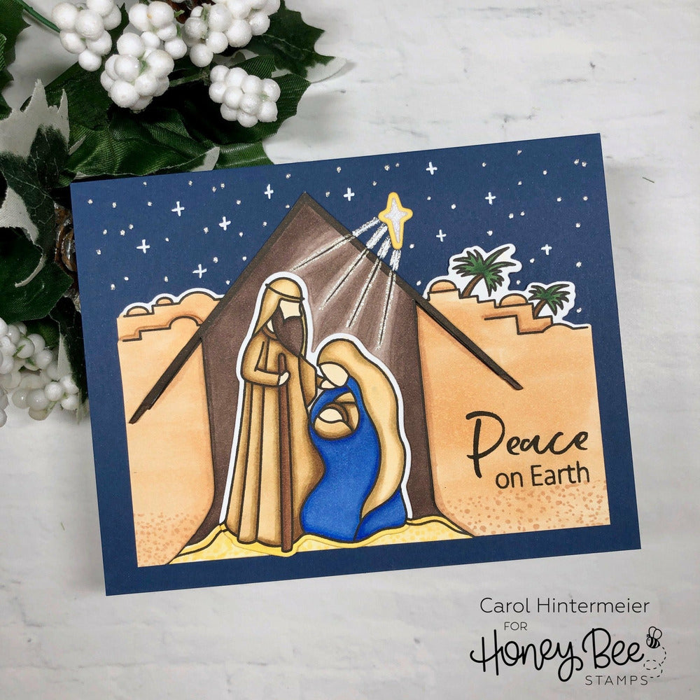 Load image into Gallery viewer, Christ Is Born | 6x6 Stamp Set