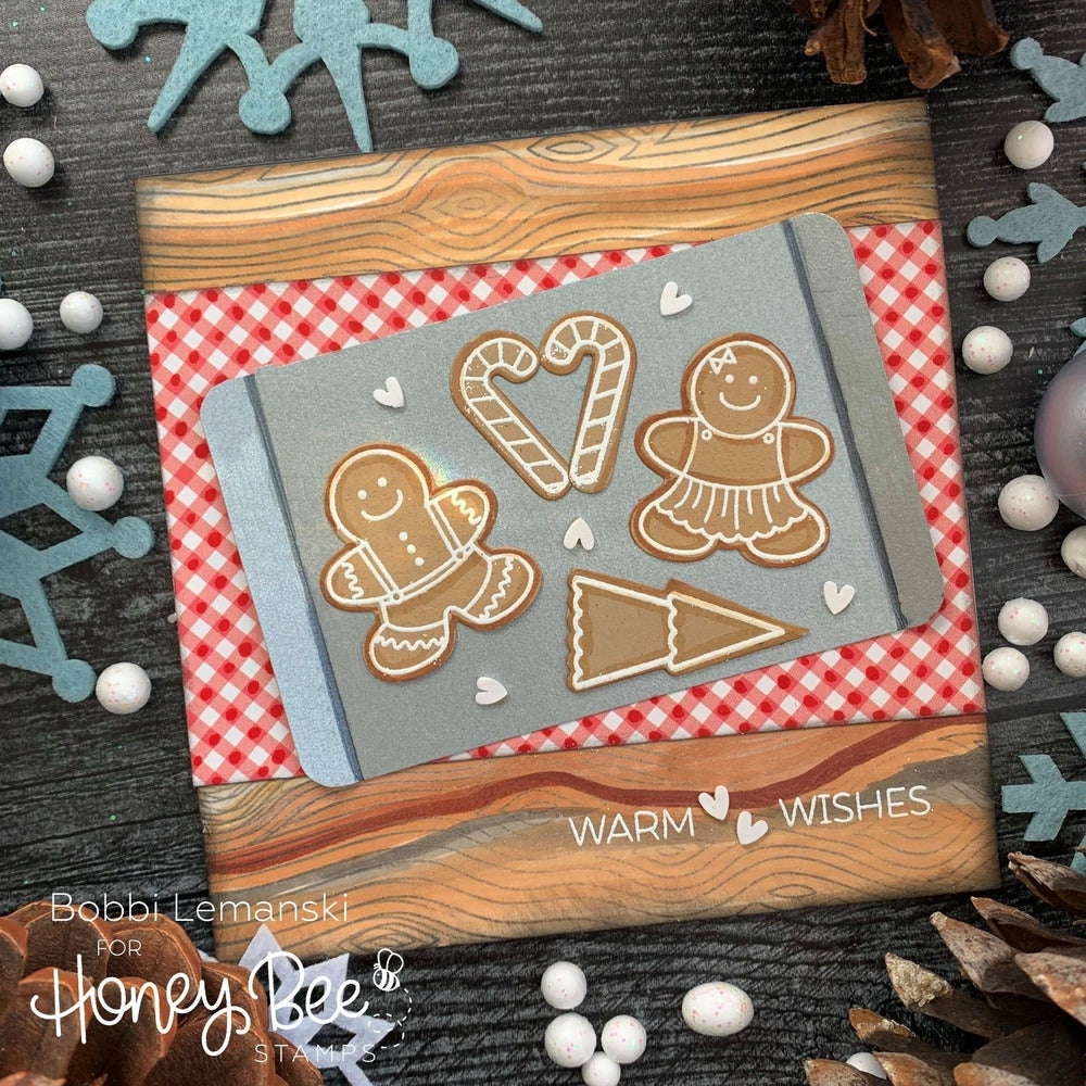 Load image into Gallery viewer, Gingerbread House Add-On | 6x6 Stamp Set