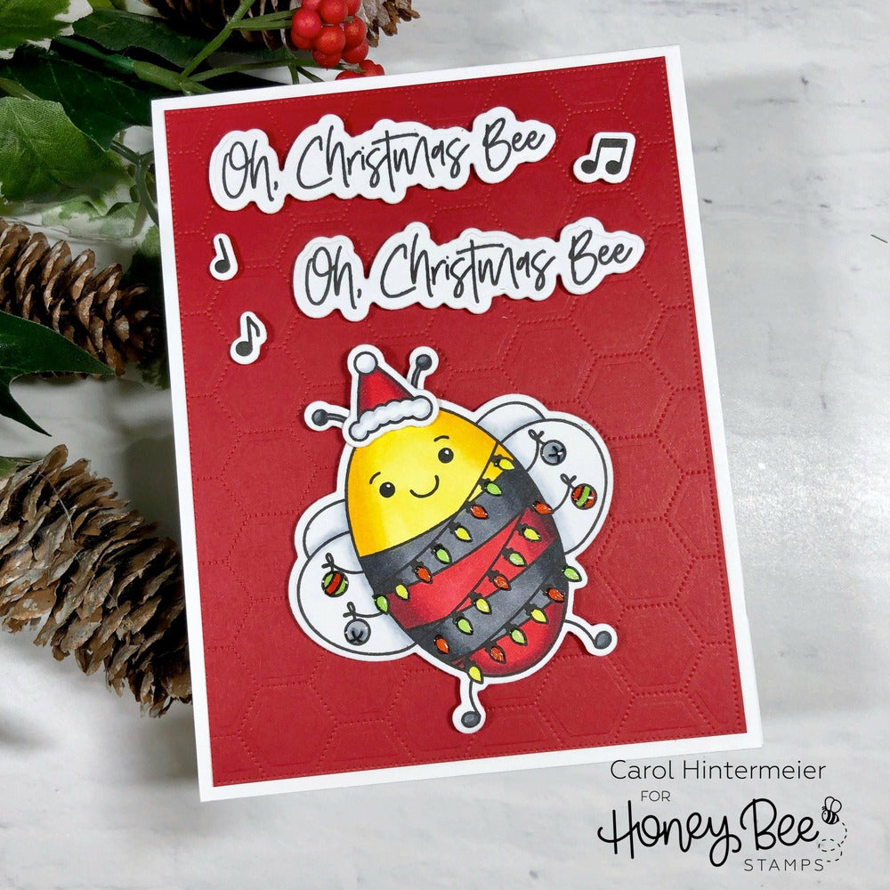 Load image into Gallery viewer, Oh Christmas Bee | Honey Cuts