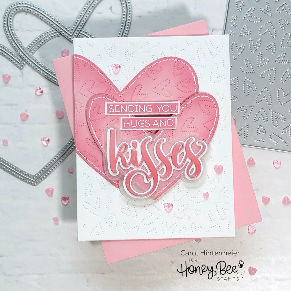 Load image into Gallery viewer, Kisses | 3x4 Stamp Set