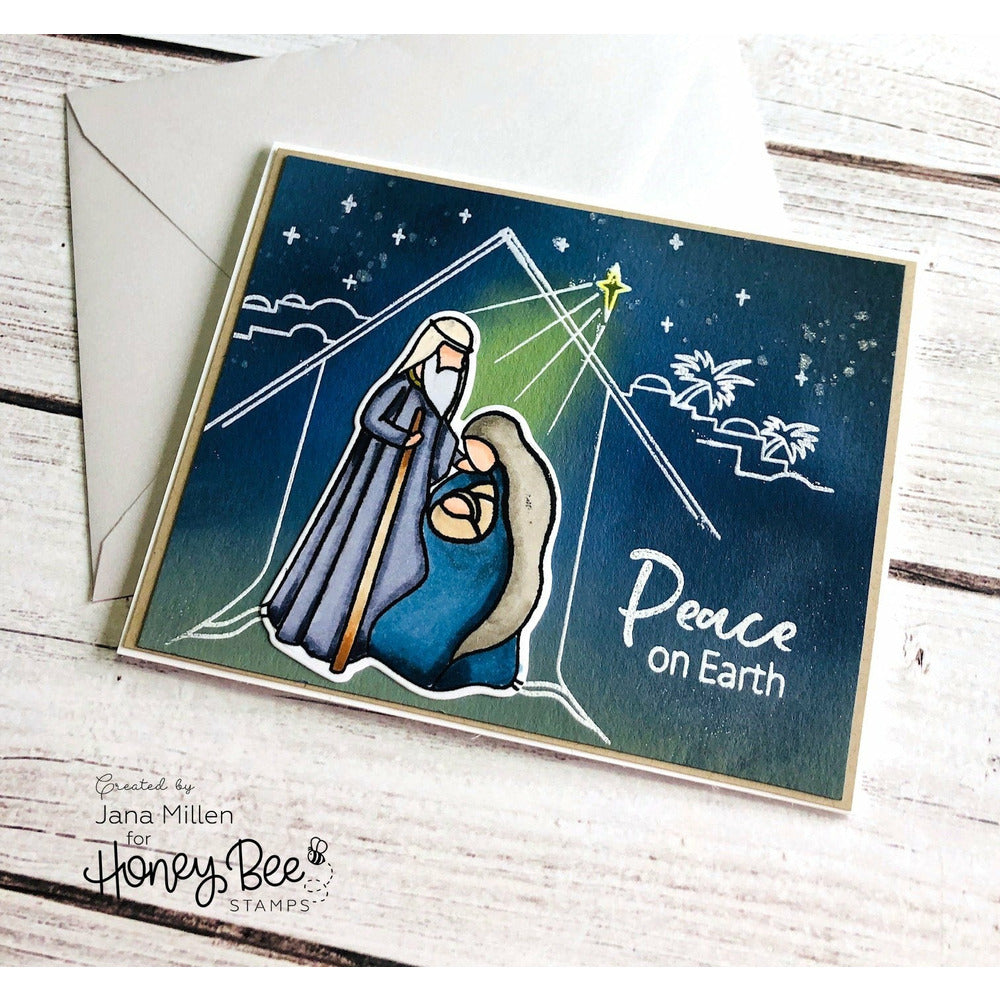 Load image into Gallery viewer, Christ Is Born | 6x6 Stamp Set | RETIRING!