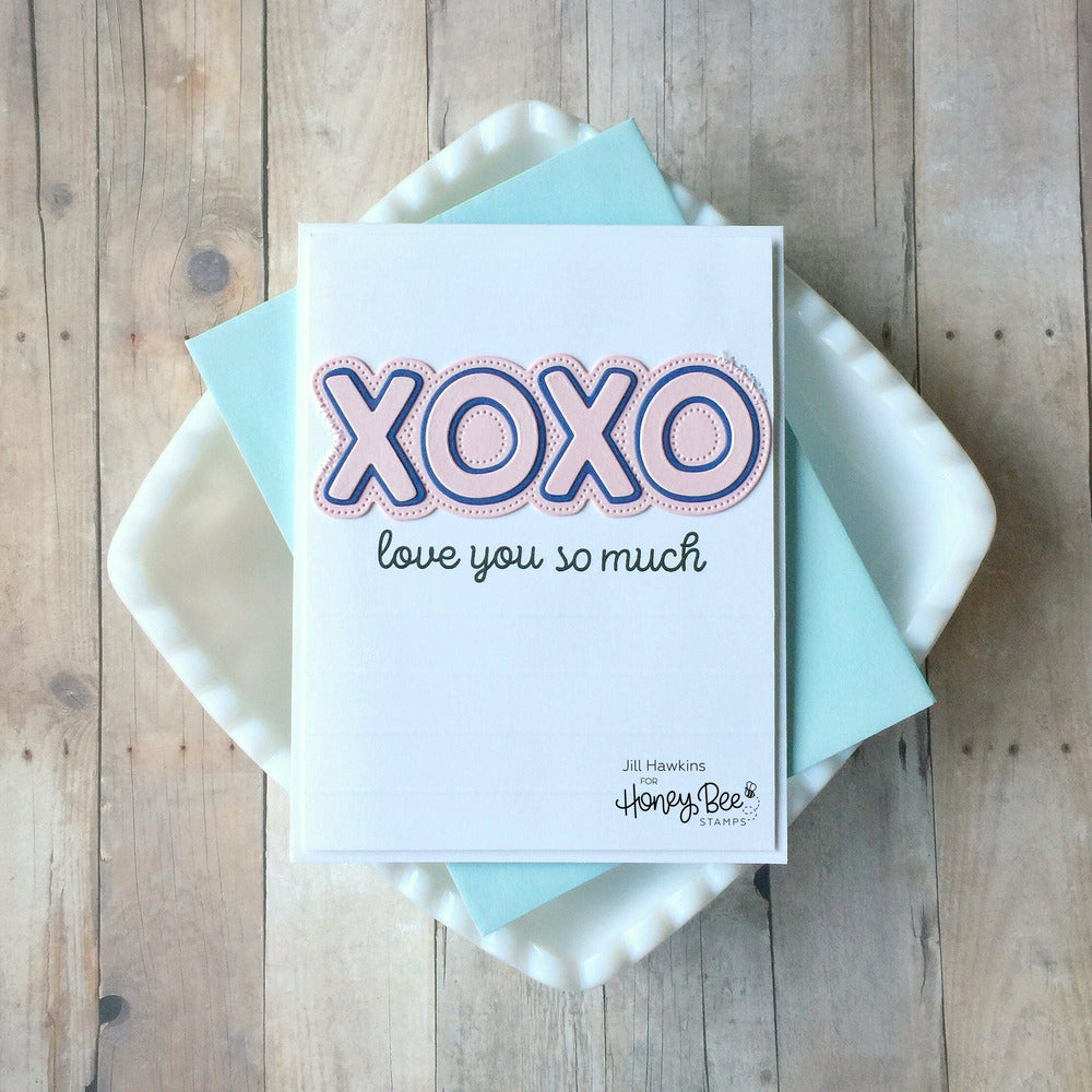 Load image into Gallery viewer, XOXO | 3x4 Stamp Set