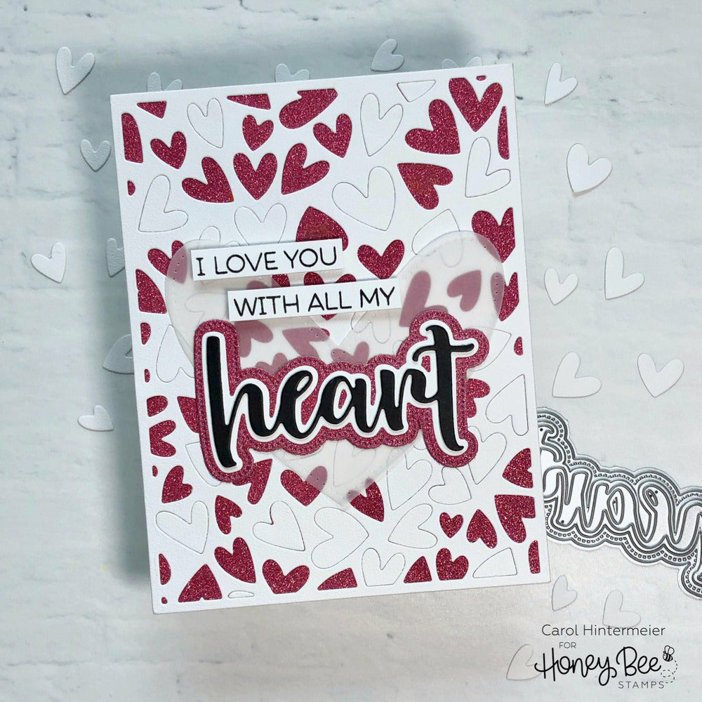 Load image into Gallery viewer, Heart | 3x4 Stamp Set