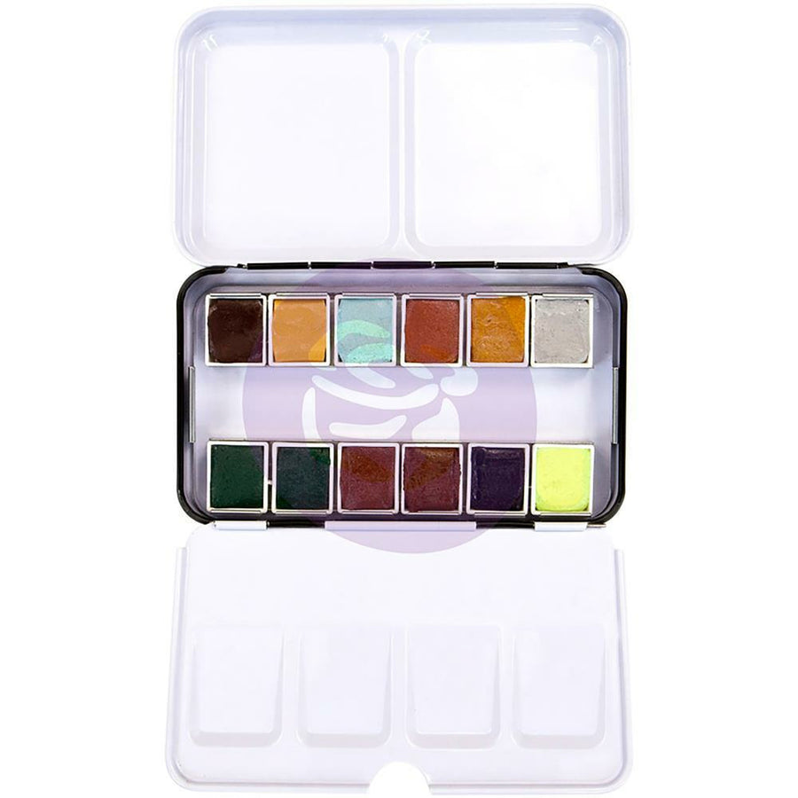 Essence | Prima Watercolor Confections Watercolor Pans 12/Pkg