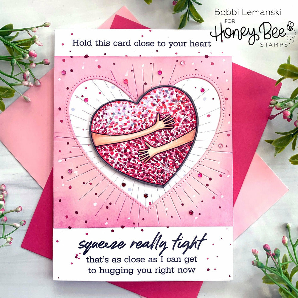 Load image into Gallery viewer, Paper Hugs | 6x6 Stamp Set