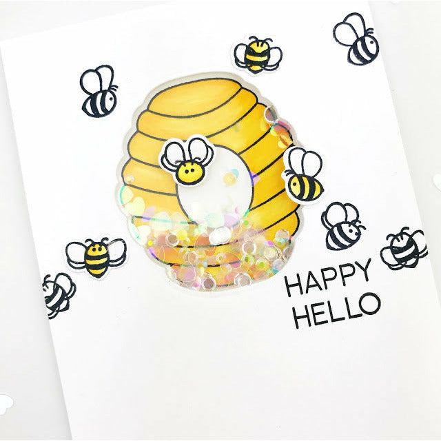 Load image into Gallery viewer, Layering Bee Hive | Honey Cuts