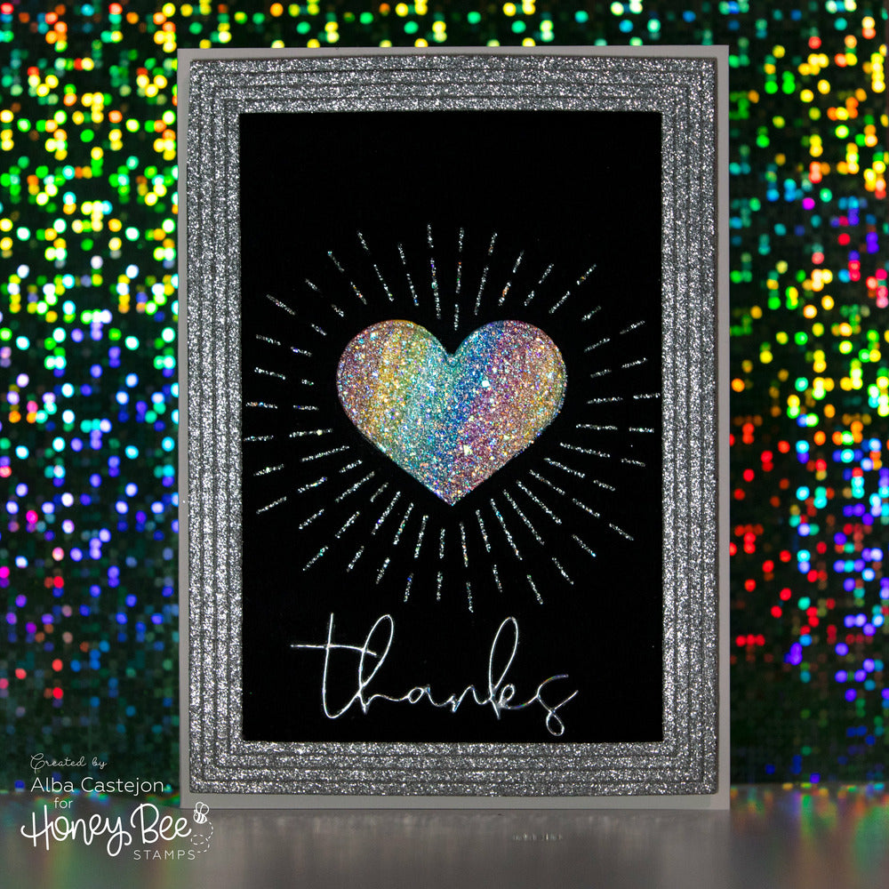 Load image into Gallery viewer, Radiant Heart | Background Stencil
