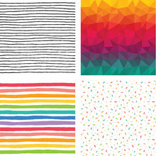 Load image into Gallery viewer, Paper Pad 6x6 | 24 Double Sided Sheets | Over The Rainbow