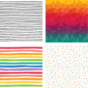 Over The Rainbow | 6x6 Paper Pad | 24 Double Sided Sheets