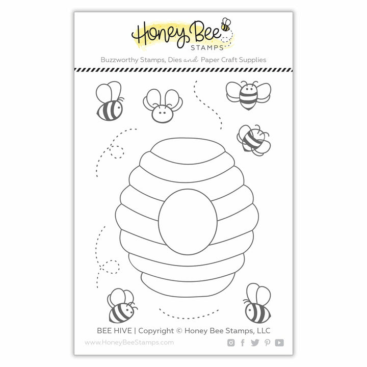 Honey Bee Stamps BEE HIVE