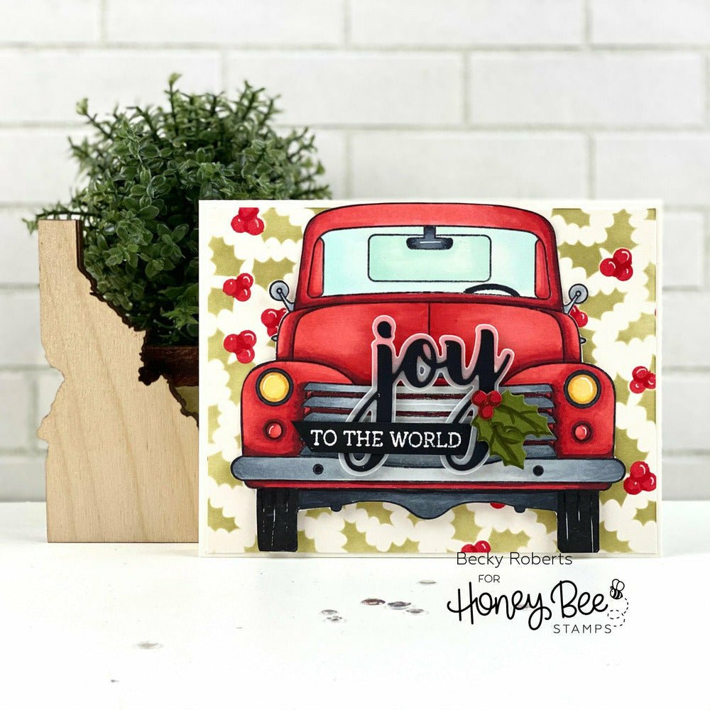 Load image into Gallery viewer, Big Pickup Cab | 6x6 Stamp Set