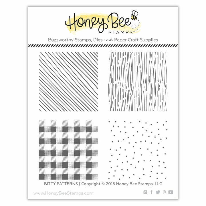Bitty Patterns | 4x4 Stamp Set