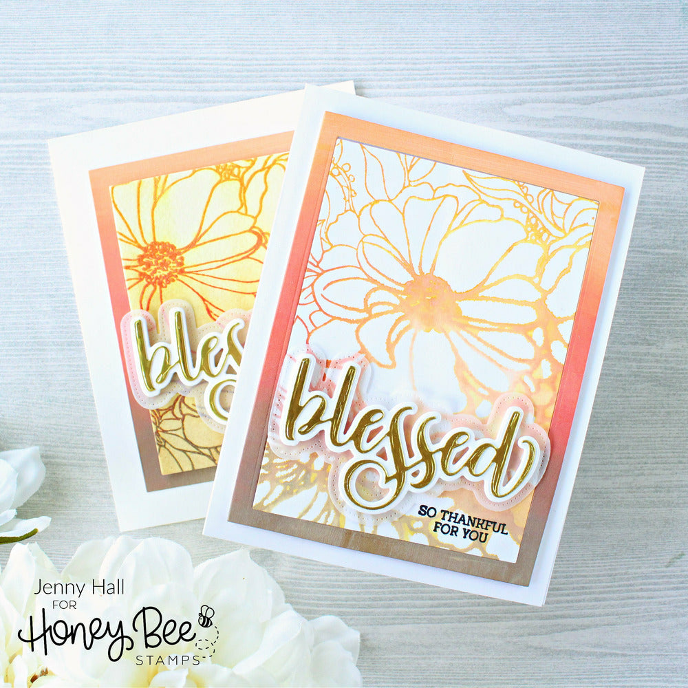 Load image into Gallery viewer, Blessed | 3x4 Stamp Set