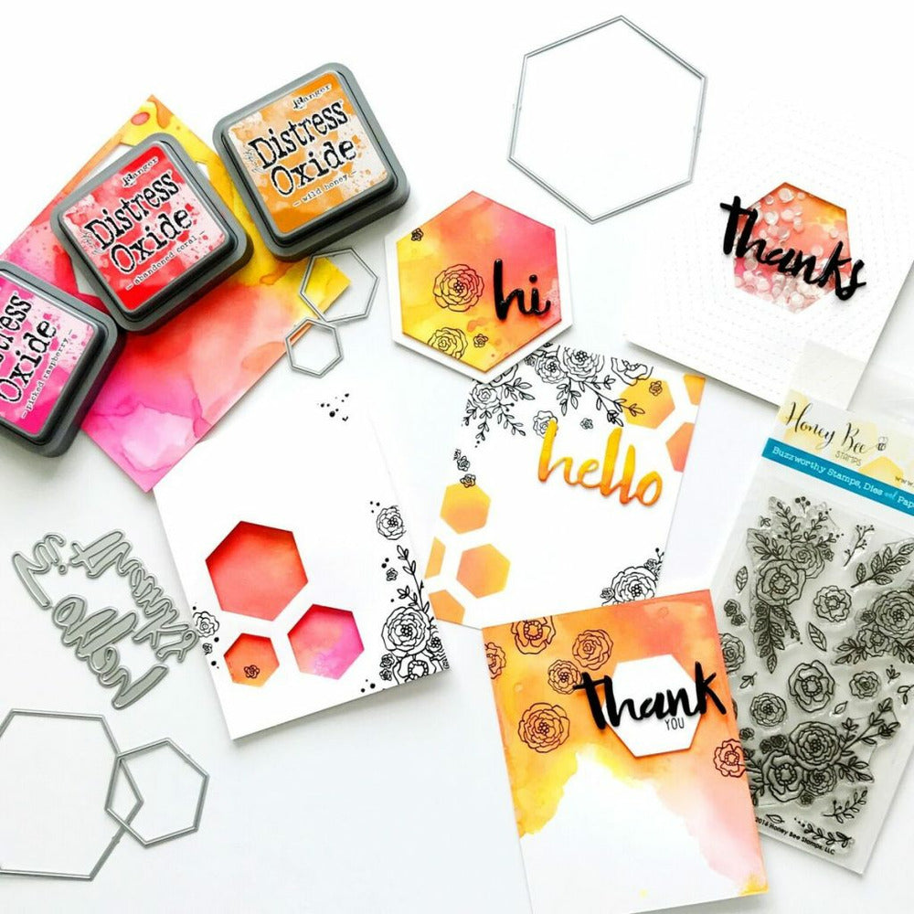 Load image into Gallery viewer, Hexagon Solid Stack | Honey Cuts