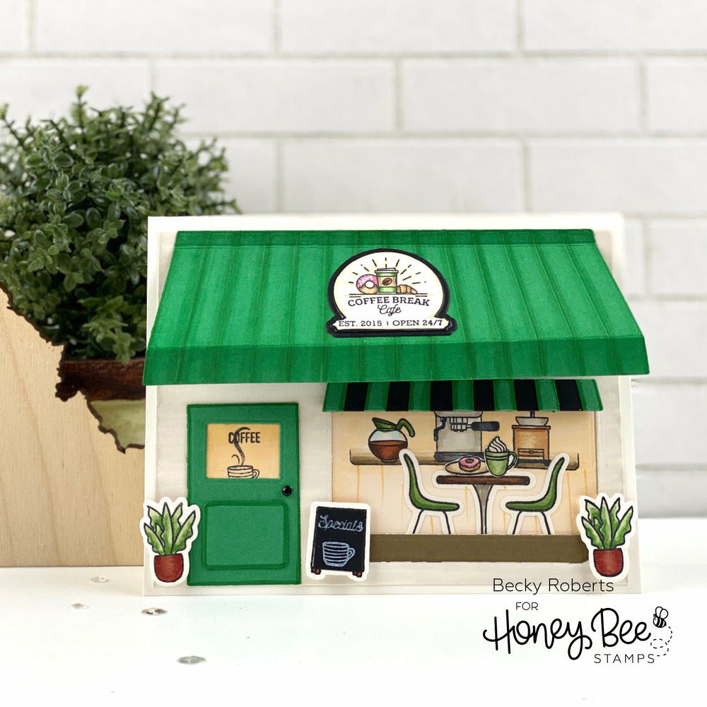Load image into Gallery viewer, Coffee Shop House Builder Add-On | Honey Cuts