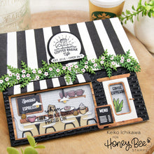 Load image into Gallery viewer, Coffee Shop House Builder Add-On | 4x4 Stamp Set