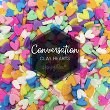 Load image into Gallery viewer, Conversation | Clay Hearts