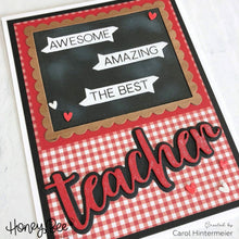 Load image into Gallery viewer, Special Teacher | 4x4 Stamp Set