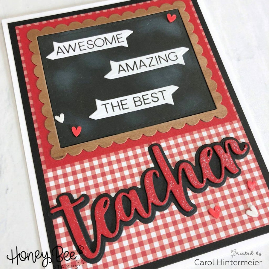 Special Teacher | 4x4 Stamp Set
