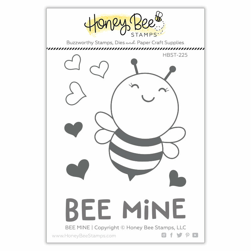 Load image into Gallery viewer, Bee Mine | 3x4 Stamp Set