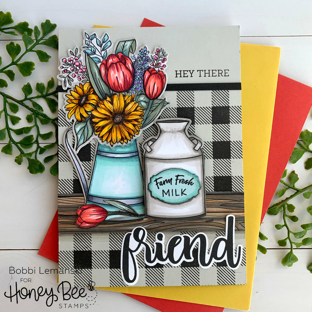 Load image into Gallery viewer, Buffalo Plaid | 6x6 Stamp Set