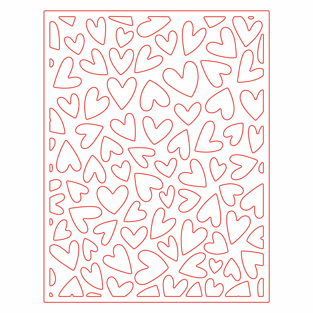 Load image into Gallery viewer, Fluttering Hearts Cover Plate | Honey Cuts