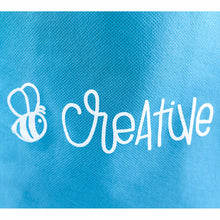 "Load image into Gallery viewer, Bee Creative | 8""x10"" Teal Bag"