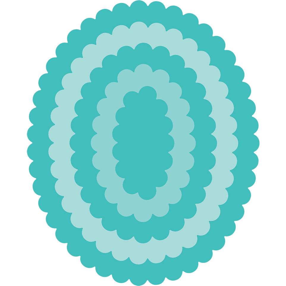 Load image into Gallery viewer, Scallop Ovals | Honey Cuts