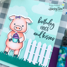Load image into Gallery viewer, Pinky The Pig | 4x8 Stamp Set