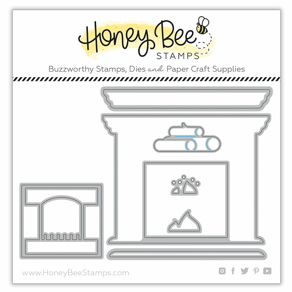 Load image into Gallery viewer, Fireplace Scene Builder | Honey Cuts