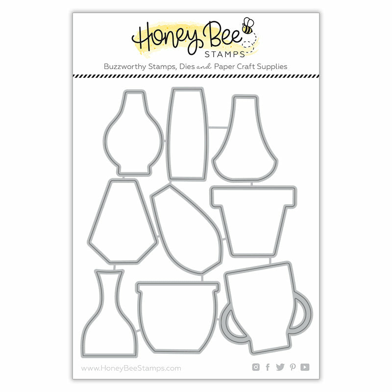 Load image into Gallery viewer, Floral Vases | Honey Cuts