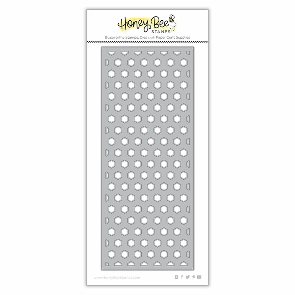 Load image into Gallery viewer, Hexi Slimline Cover Plate -  Base | Honey Cuts