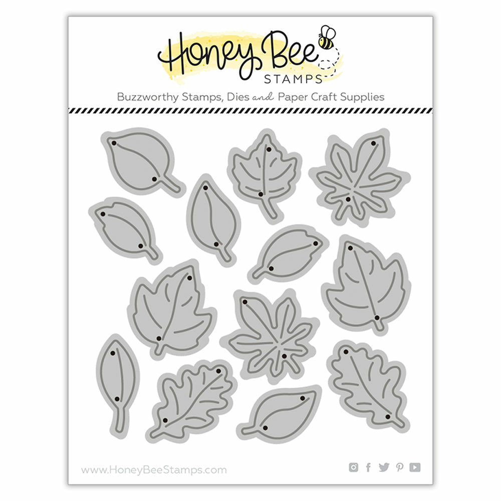 Load image into Gallery viewer, Itty Bitty Leaves | Honey Cuts