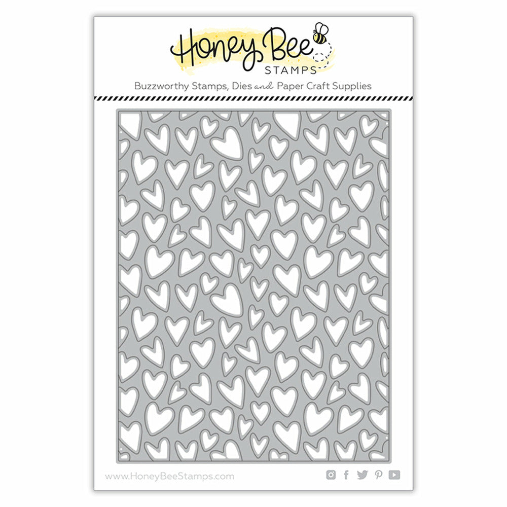 Load image into Gallery viewer, Whimsical Hearts A2 Cover Plate | Honey Cuts