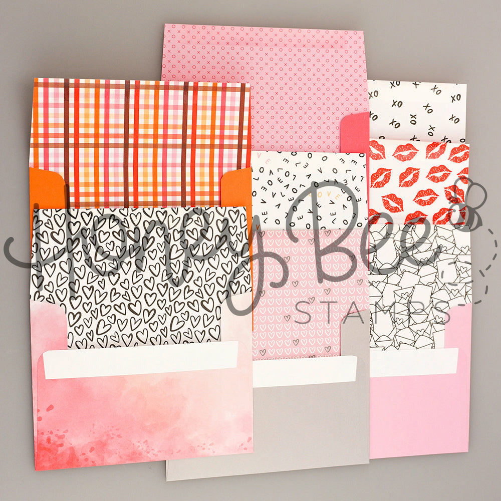Load image into Gallery viewer, Honey Bee | A2 Envelopes 8pk | Love Letters