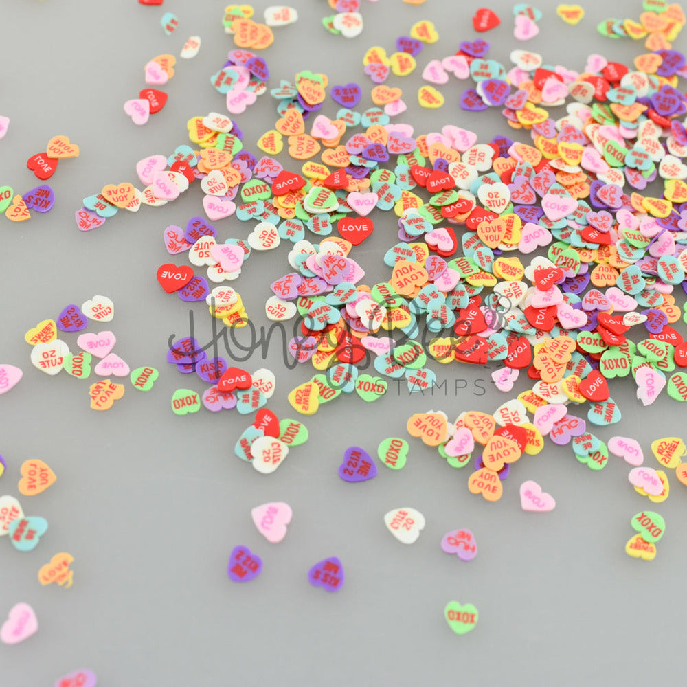 Load image into Gallery viewer, Candy Hearts | Clay Bits