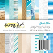 Load image into Gallery viewer, Paper Pad 6x6 | 24 Double Sided Sheets | Beach Vibes