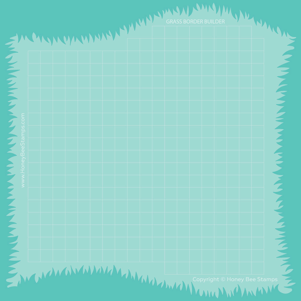 Load image into Gallery viewer, Grassy Hill Borders | Stencils | Set of 2