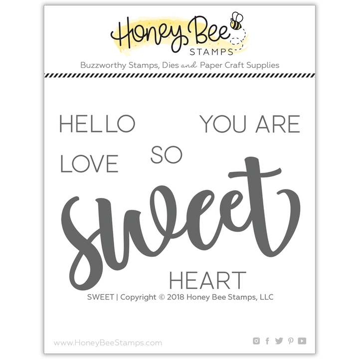 Sweet | 3x4 Stamp Set