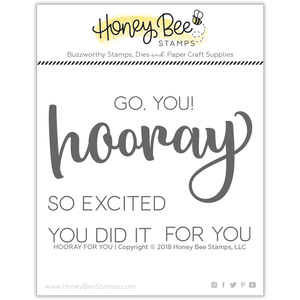 Hooray For You | 3x4 Stamp Set