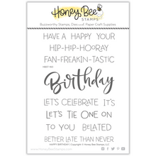 Load image into Gallery viewer, Happy Birthday | 4x6 Stamp Set