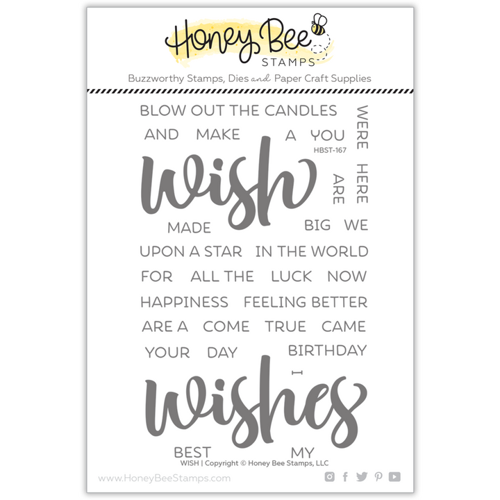 Wish | 4x6 Stamp Set