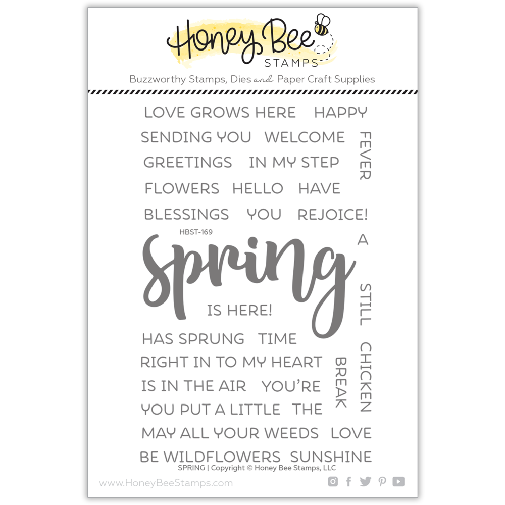 Load image into Gallery viewer, Spring | 4x6 Stamp Set