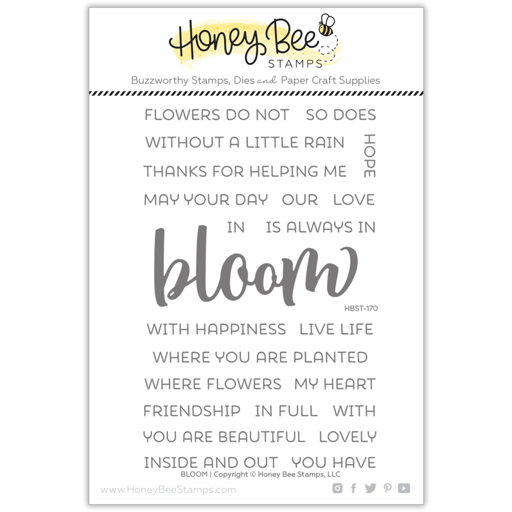 Load image into Gallery viewer, Bloom | 4x6 Stamp Set