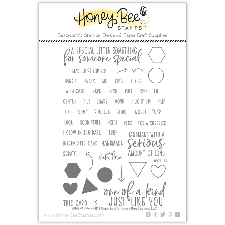 One-Of-A-Kind | 4x6 Stamp Set