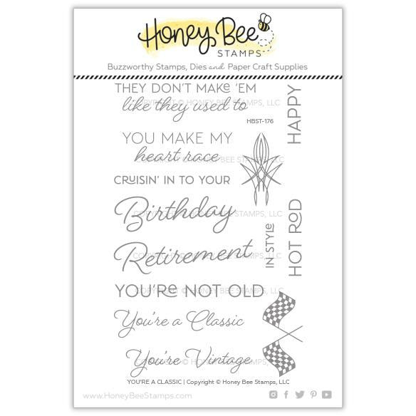 You're A Classic | 4x6 Stamp Set