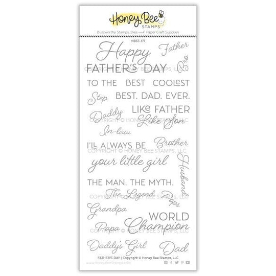 Honey Bee Stamps FATHER'S DAY