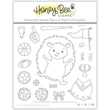 Load image into Gallery viewer, Hope the Hedgehog | 6x6 Stamp Set