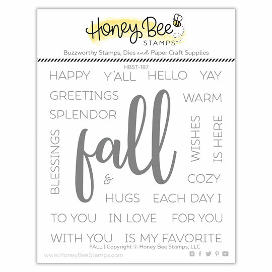 Honey Bee Stamps Fall